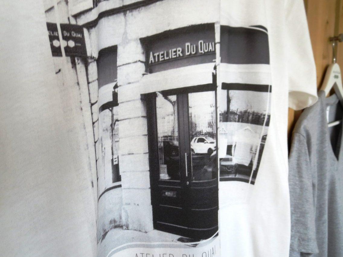 T-shirt personnalisé  photo-  Après - Atelier Du Quai Lyon