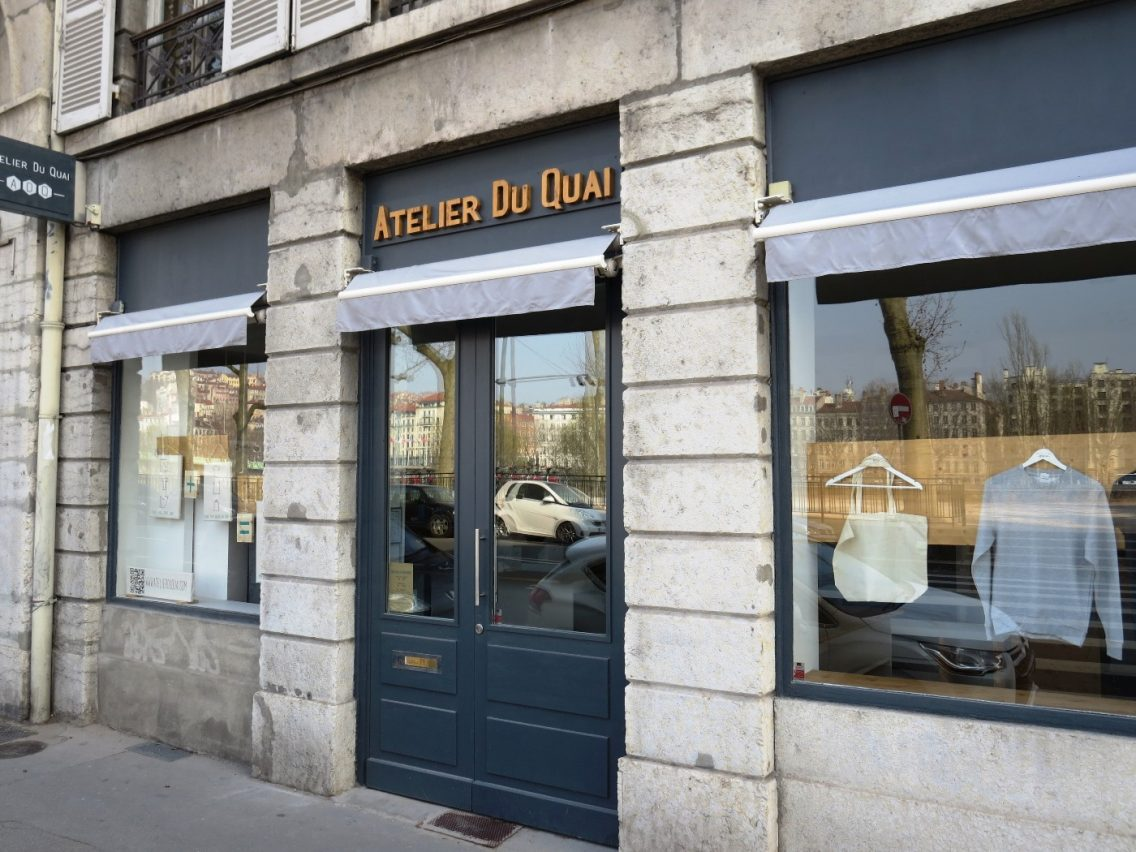 T-shirt personnalisé photo  - Avant - Atelier Du Quai Lyon